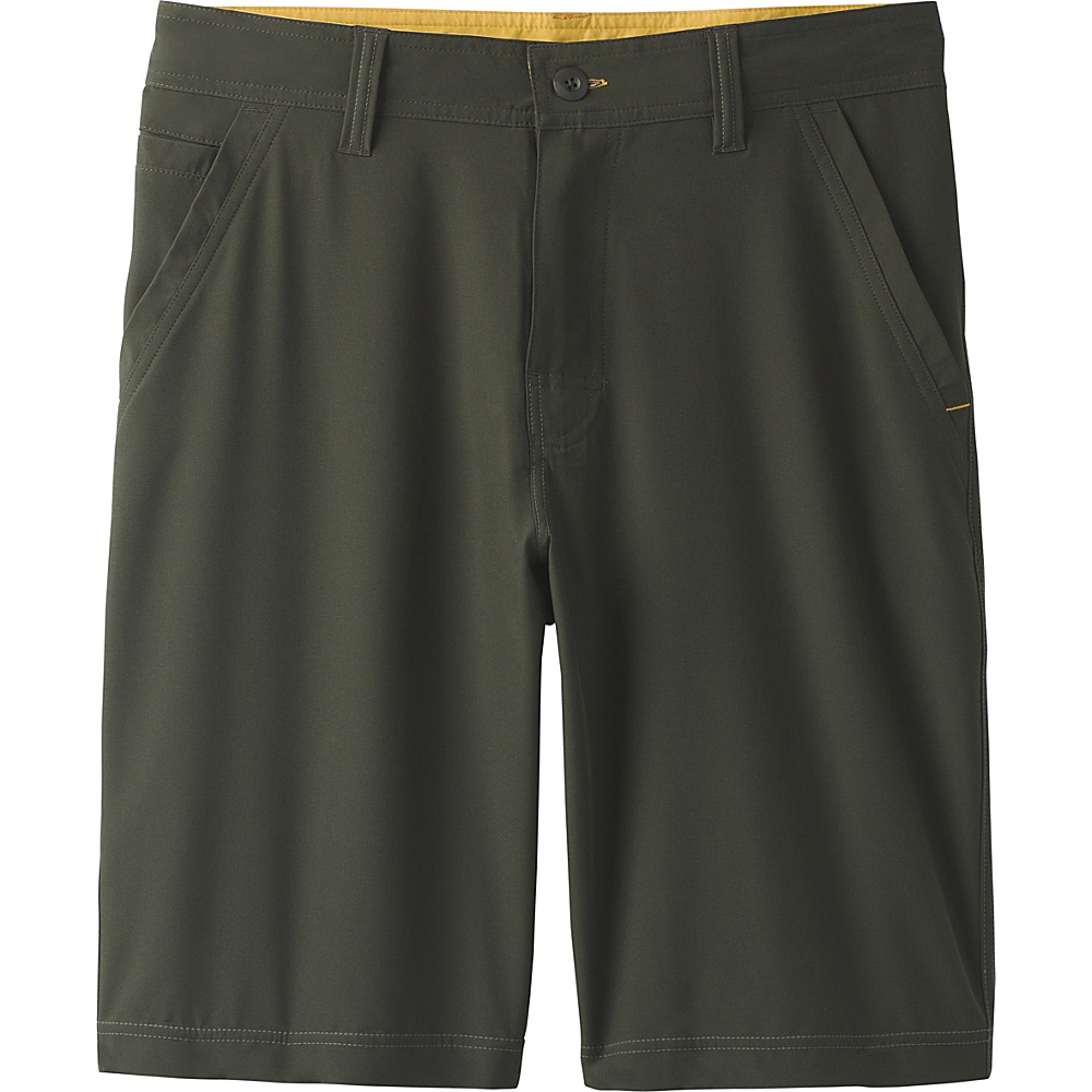 PrAna Ansa Short 38 - Dark Olive - PrAna Mens Apparel - Apparel & Footwear, Men's Apparel