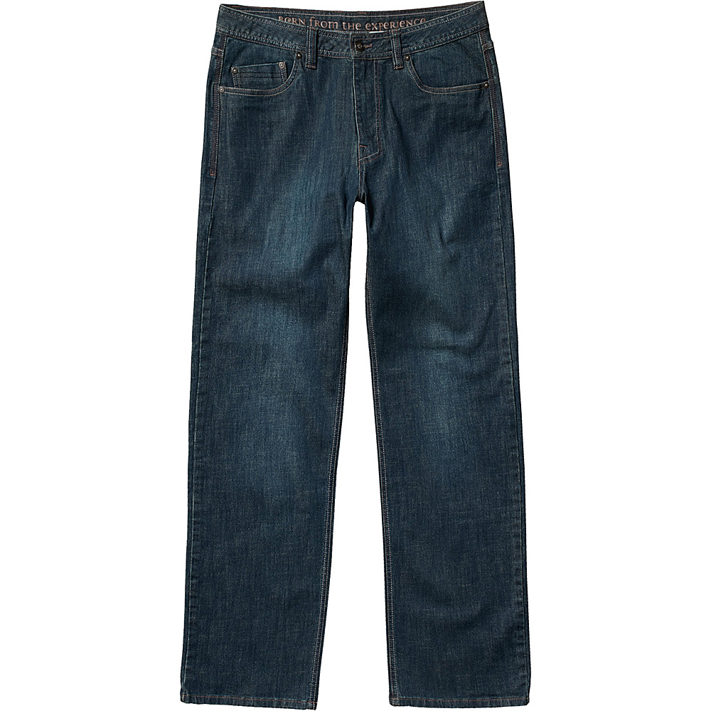 PrAna Axiom Jean - 34 Inseam 36 - Antique Stone Wash - PrAna Mens Apparel - Apparel & Footwear, Men's Apparel