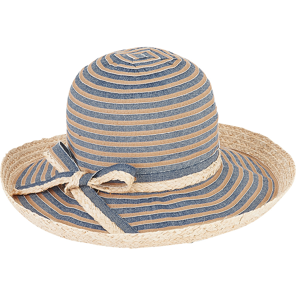Sun N Sand Ribbons Hat Tan - Sun N Sand Hats - Fashion Accessories, Hats