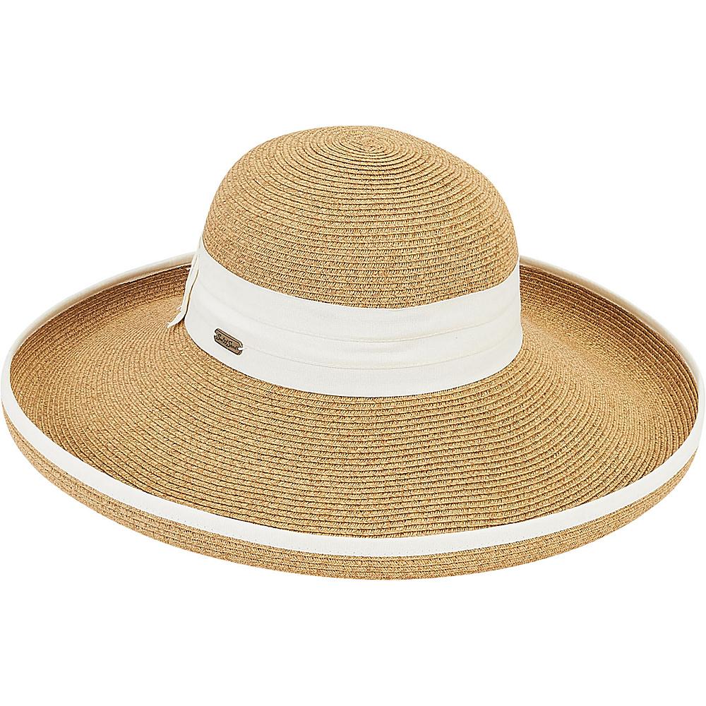 Sun N Sand Paper Braid Hat A- Ecru - Sun N Sand Hats - Fashion Accessories, Hats