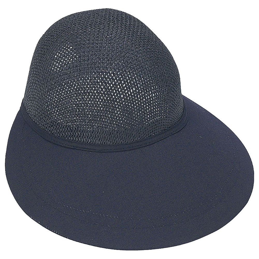 Sun N Sand Visor Black - Sun N Sand Hats/Gloves/Scarves - Fashion Accessories, Hats/Gloves/Scarves