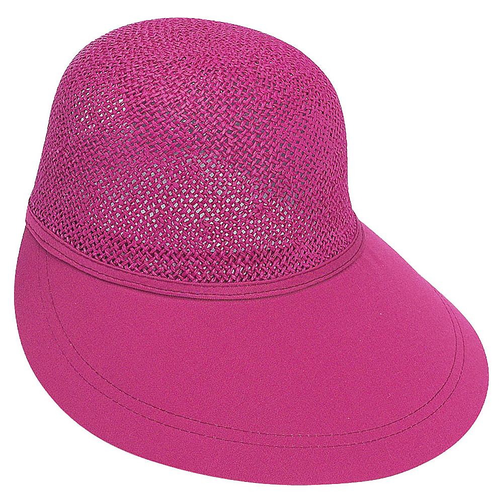 Sun N Sand Visor F-Fushia - Sun N Sand Hats/Gloves/Scarves - Fashion Accessories, Hats/Gloves/Scarves