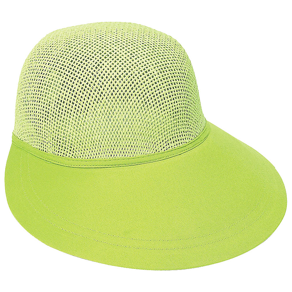 Sun N Sand Visor Lime Green - Sun N Sand Hats/Gloves/Scarves - Fashion Accessories, Hats/Gloves/Scarves