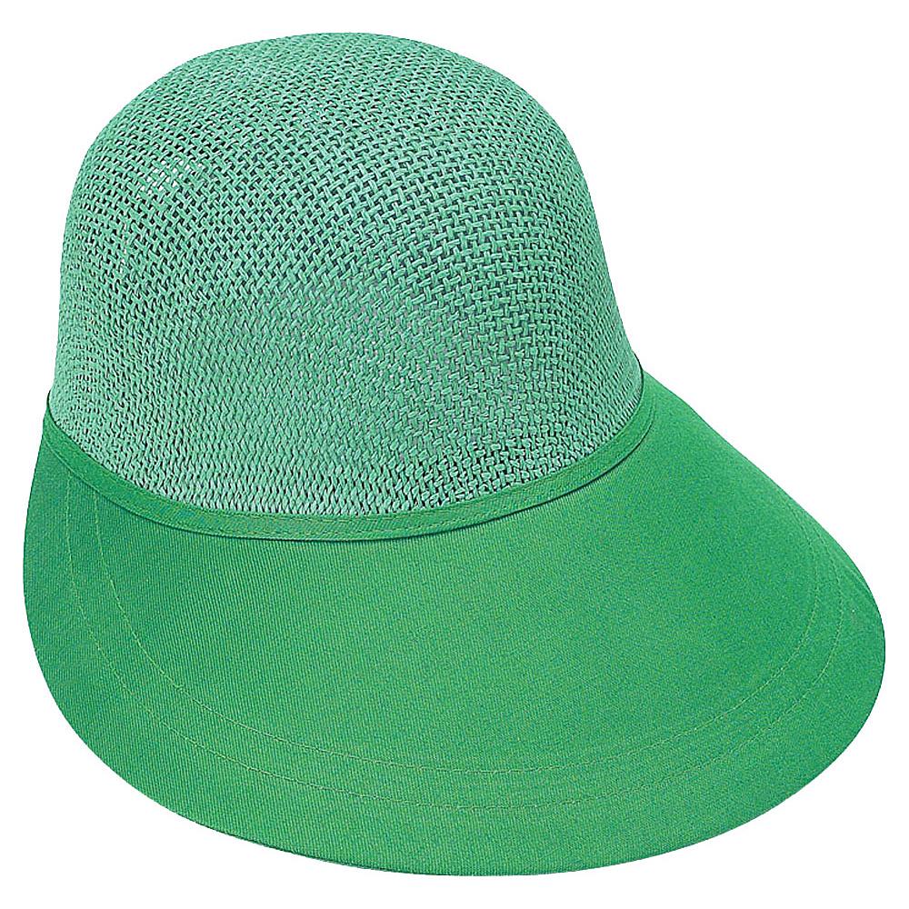 Sun N Sand Visor GR-Emerald - Sun N Sand Hats/Gloves/Scarves - Fashion Accessories, Hats/Gloves/Scarves