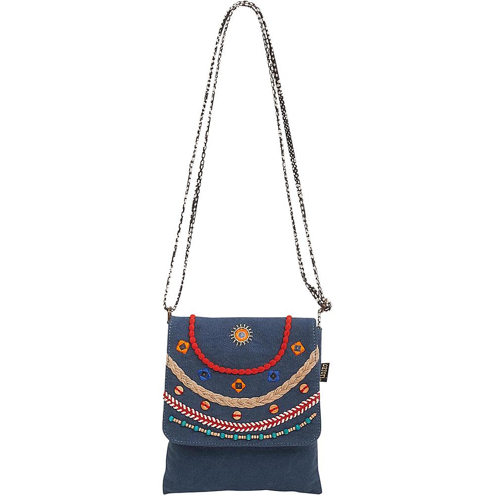 Sun N Sand Brielle Crossbody Black - Sun N Sand Fabric Handbags - Handbags, Fabric Handbags
