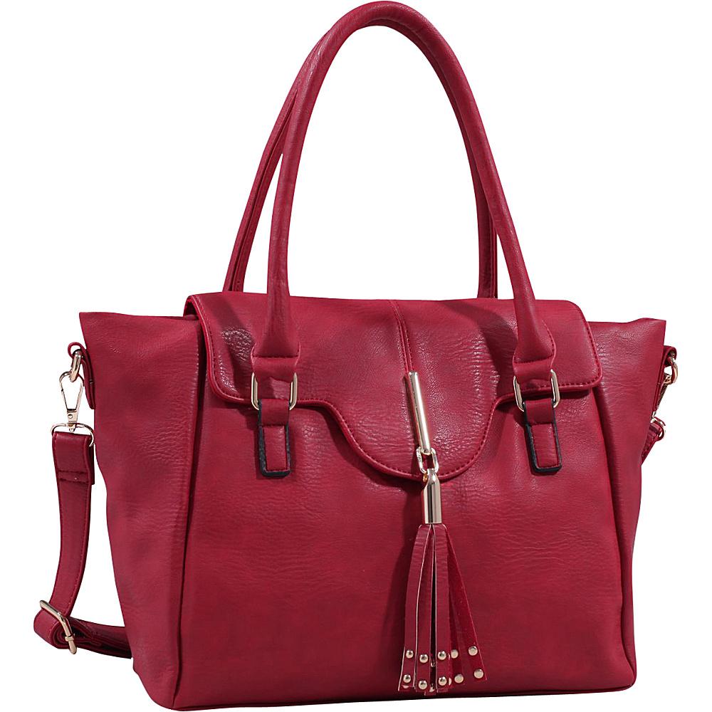 MKF Collection by Mia K. Farrow Koodgate Shoulder Bag Red - MKF Collection by Mia K. Farrow Manmade Handbags - Handbags, Manmade Handbags