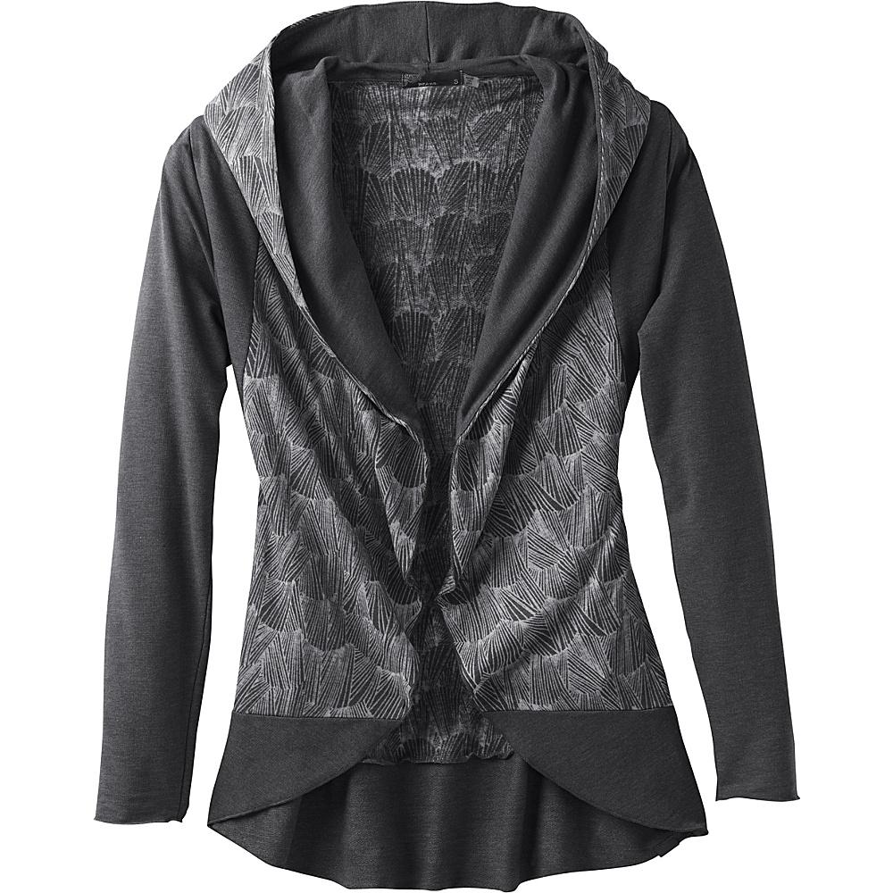 PrAna Graceful Wrap S - Black - PrAna Womens Apparel - Apparel & Footwear, Women's Apparel