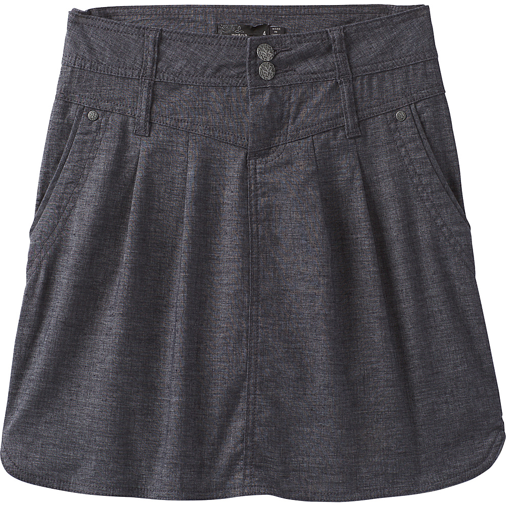 PrAna Lizbeth Skirt 14 - Coal - PrAna Womens Apparel - Apparel & Footwear, Women's Apparel