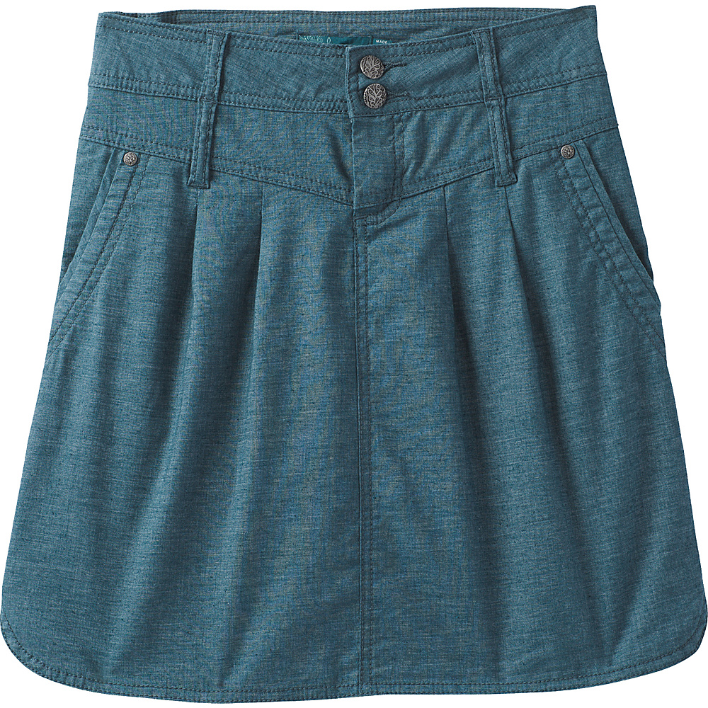 PrAna Lizbeth Skirt 8 - Mood Indigo - PrAna Womens Apparel - Apparel & Footwear, Women's Apparel