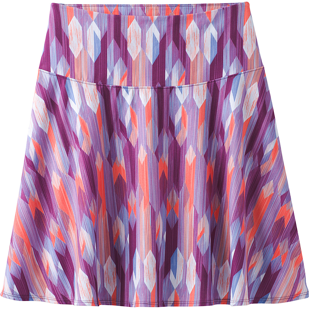 PrAna Taj Printed Skirt S - Grapevine Gemstone - PrAna Womens Apparel - Apparel & Footwear, Women's Apparel