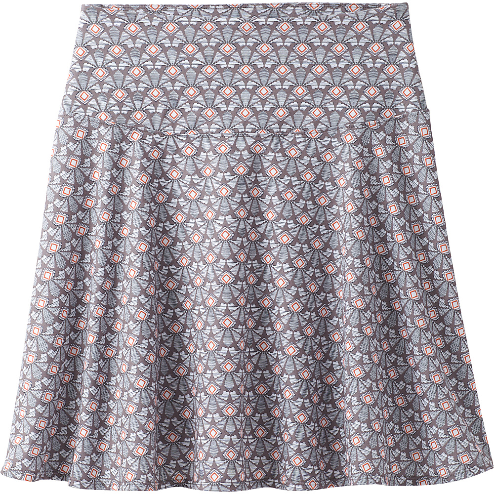 PrAna Taj Printed Skirt M - Moonrock Botanica - PrAna Womens Apparel - Apparel & Footwear, Women's Apparel