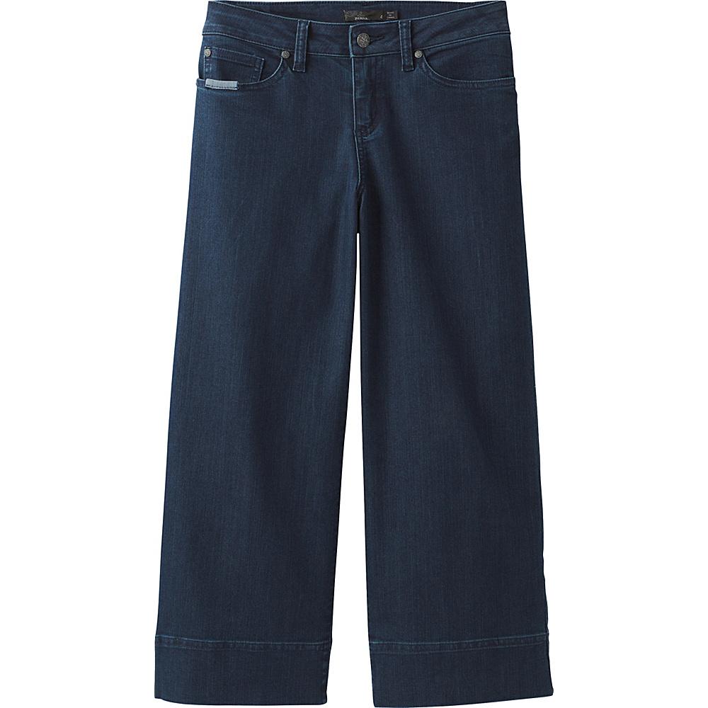 PrAna Majan Culotte Pant 6 - Indigo - PrAna Womens Apparel - Apparel & Footwear, Women's Apparel