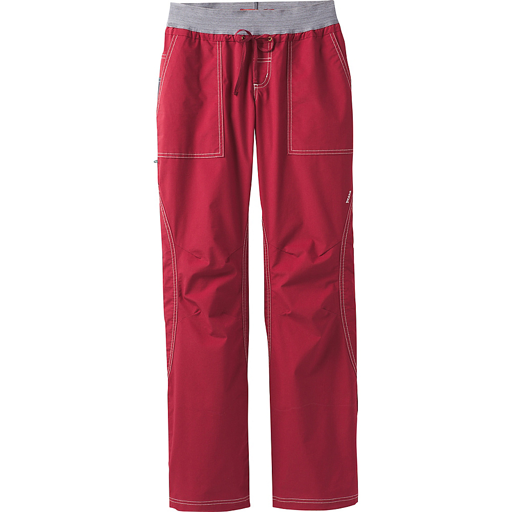 PrAna Drew Pant M - Red Rock - PrAna Womens Apparel - Apparel & Footwear, Women's Apparel