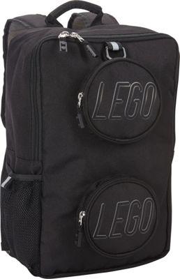 LEGO Black Brick Backpack Black - LEGO School & Day Hiking Backpacks