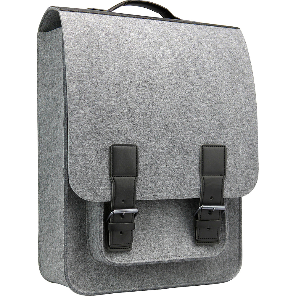 Mad Rabbit Kicking Tiger Kendrick Backpack Elephant Grey Mad Rabbit Kicking Tiger Laptop Backpacks