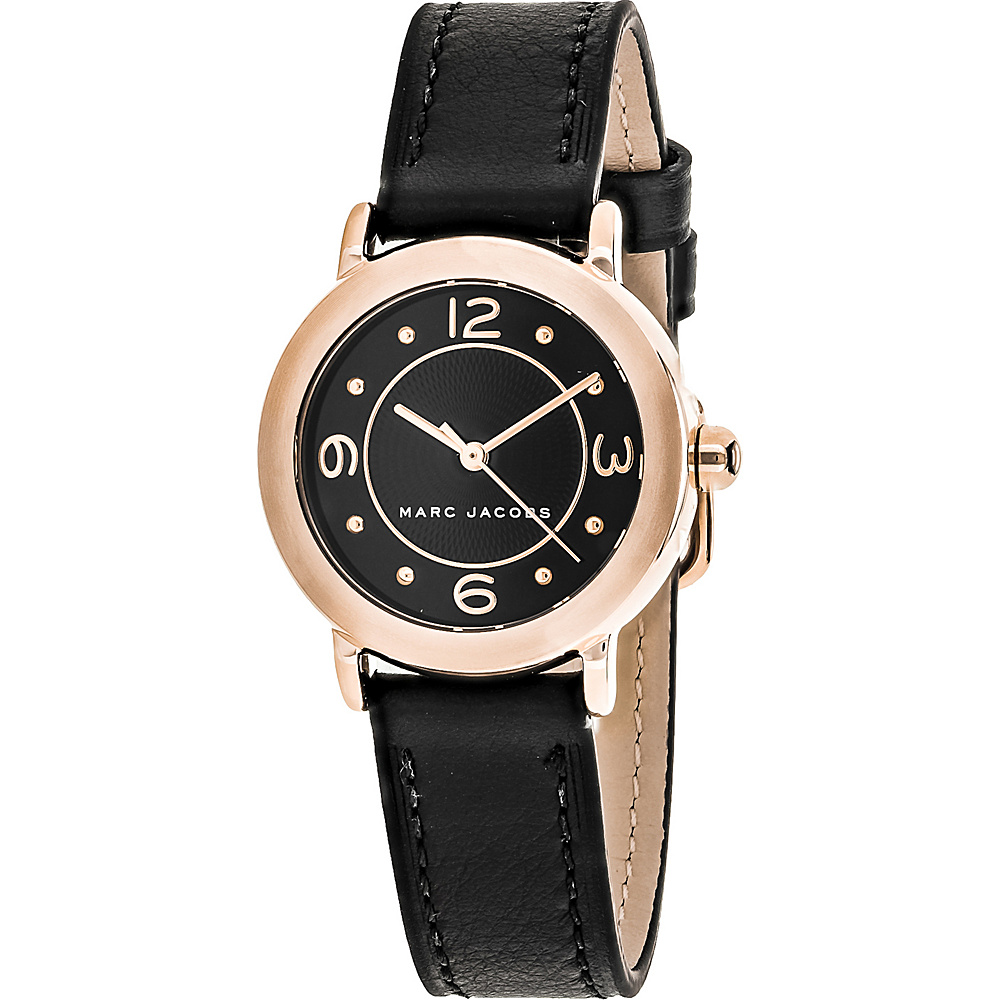 Marc Jacobs Watches Women's Riley Watch Black - Marc Jacobs Watches Watches