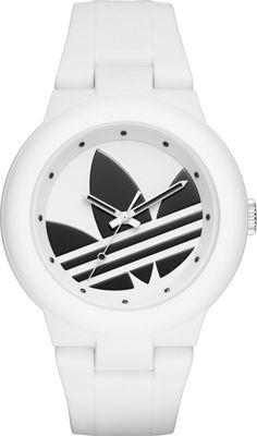 adidas watches Aberdeen Three-Hand Watch White/Black - adidas watches Watches