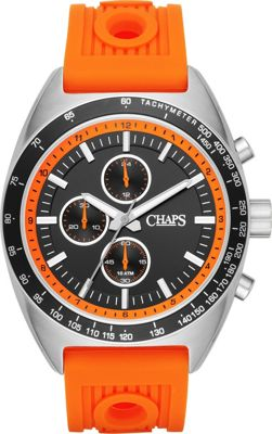 Chaps Rockton Chronograph Watch Orange - Chaps Watches