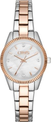 Chaps Neely Three-Hand Watch Silver/Rose Gold - Chaps Watches