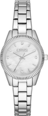 Chaps Neely Three-Hand Watch Silver - Chaps Watches