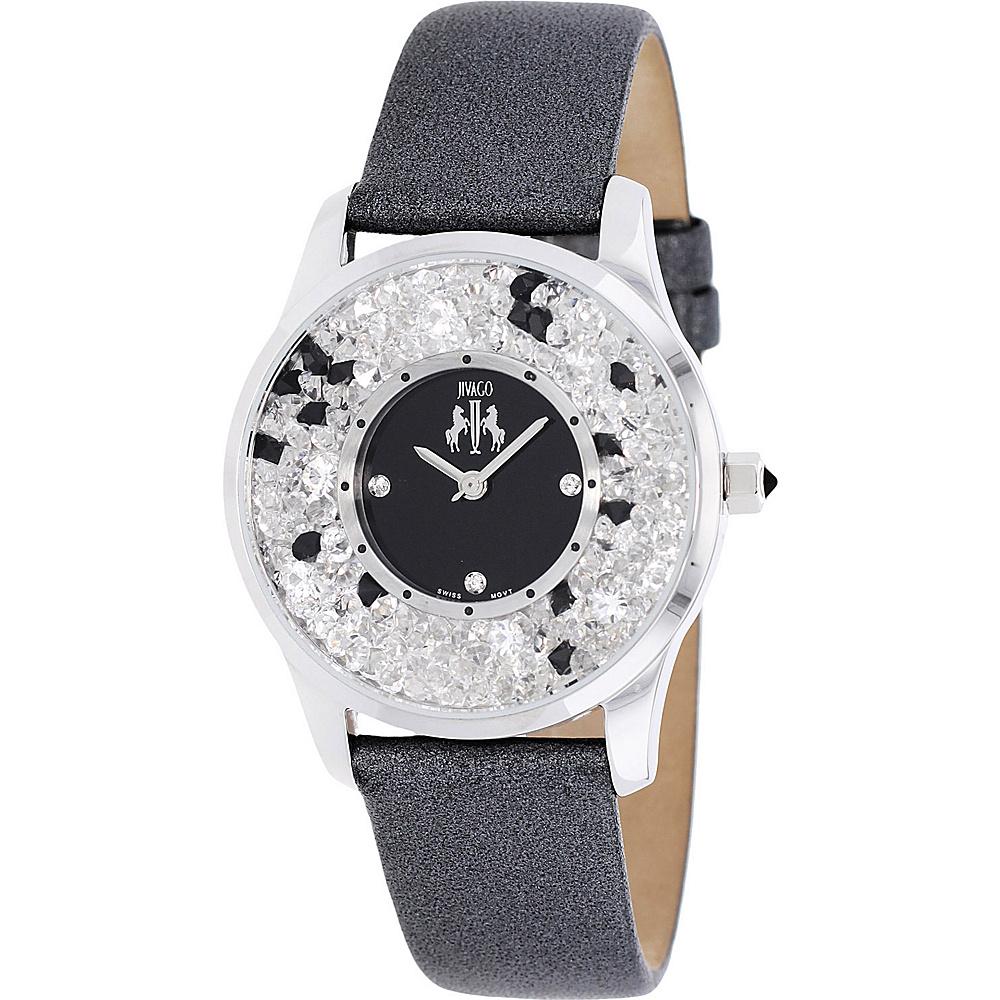 Jivago Watches Women s Brillance Watch Black Jivago Watches Watches