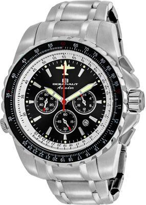 Oceanaut Watches Men's Aviador Pilot Watch Black - Oceanaut Watches Watches
