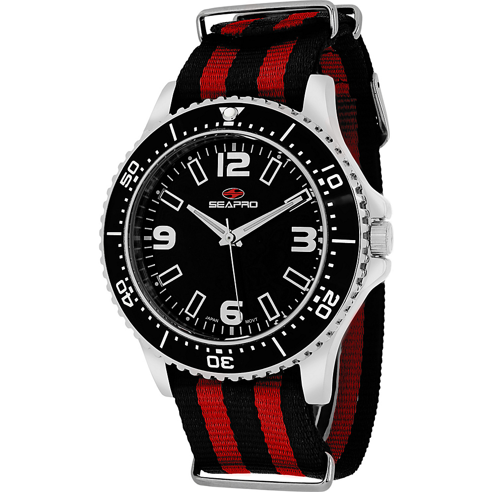 Seapro Watches Men s Tideway Watch Black Seapro Watches Watches