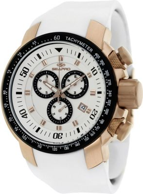 Seapro Watches Men's Imperial Watch White - Seapro Watches Watches
