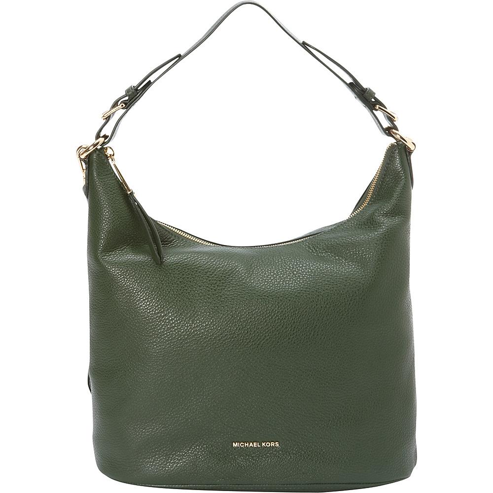 MICHAEL Michael Kors Lupita Large Hobo Retired Colors Moss MICHAEL Michael Kors Designer Handbags