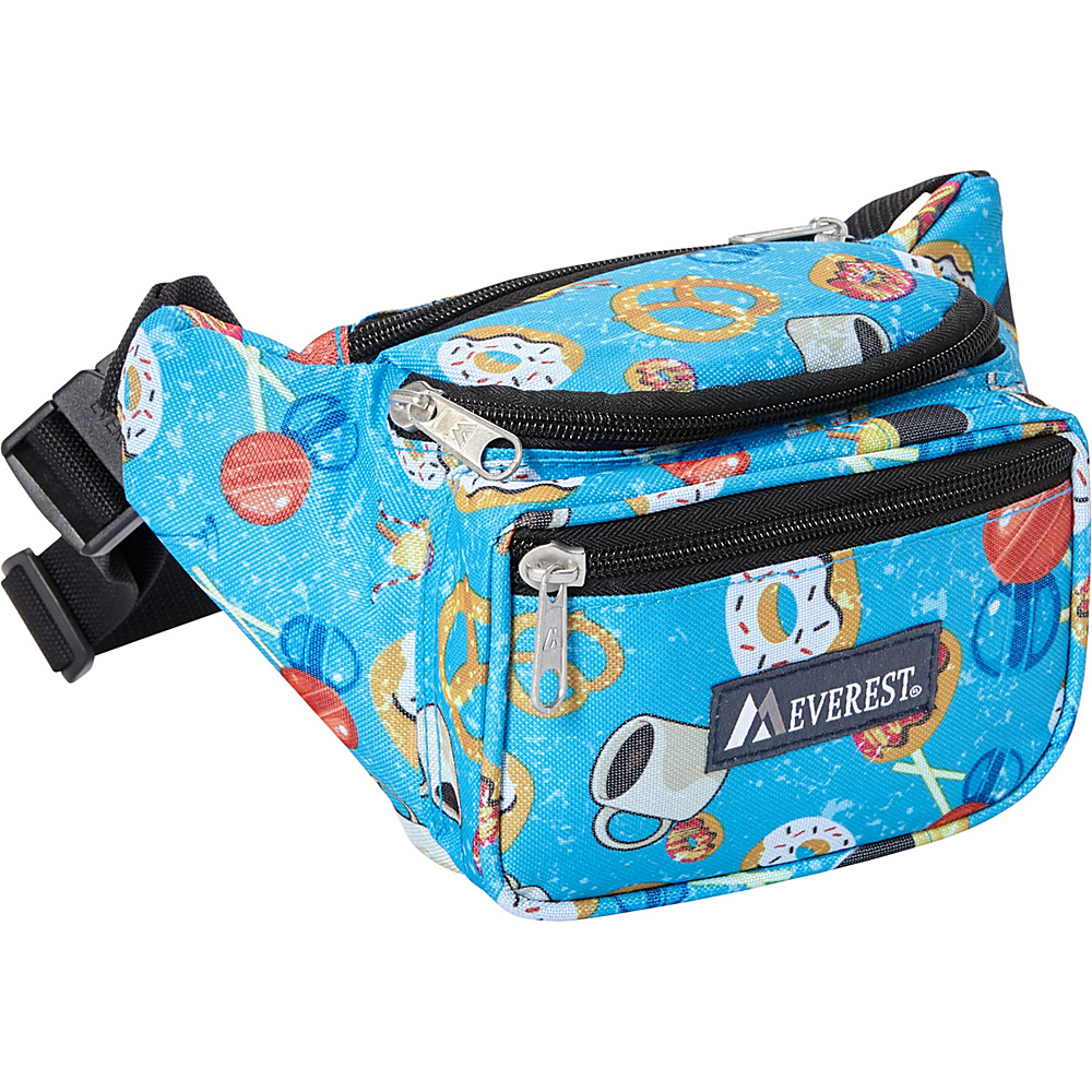 Everest Signature Pattern Waist Pack Donuts - Everest Waist Packs - Backpacks, Waist Packs