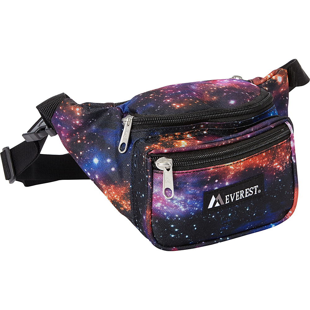 Everest Signature Pattern Waist Pack Galaxy - Everest Waist Packs - Backpacks, Waist Packs