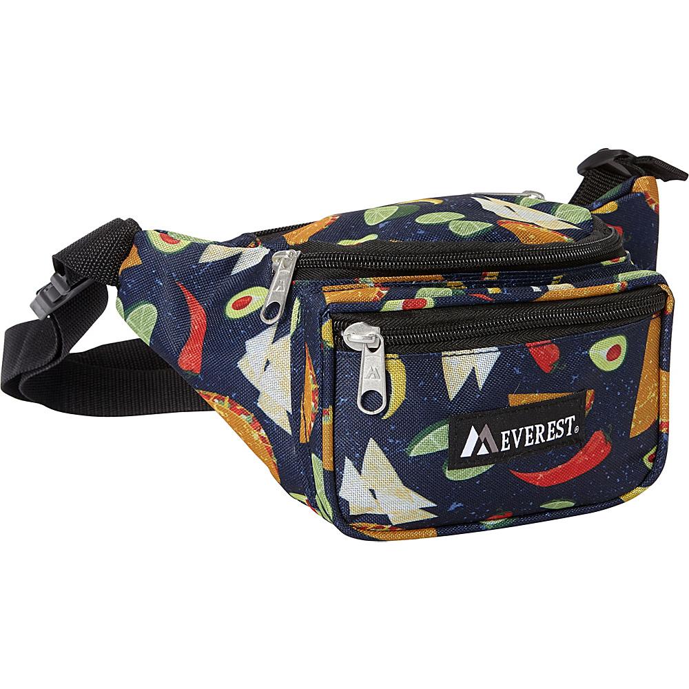 Everest Signature Pattern Waist Pack Tacos - Everest Waist Packs - Backpacks, Waist Packs