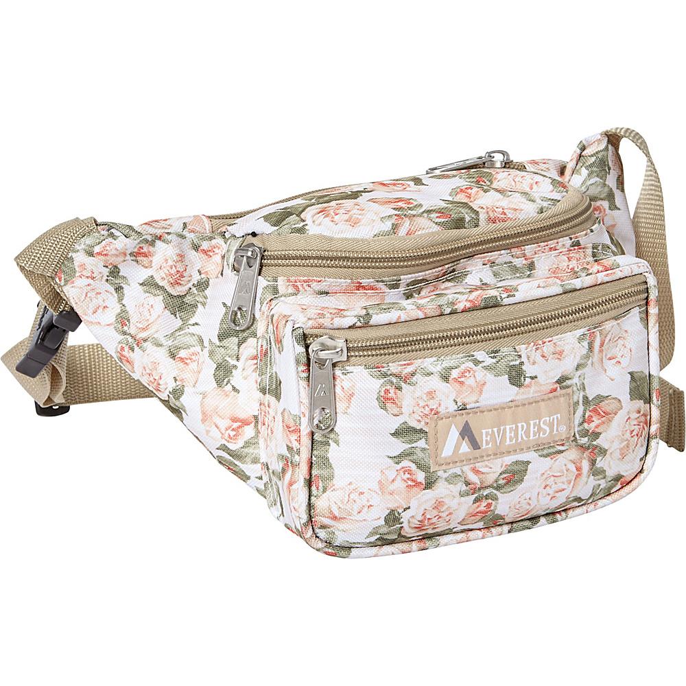 Everest Signature Pattern Waist Pack Vintage Floral - Everest Waist Packs - Backpacks, Waist Packs