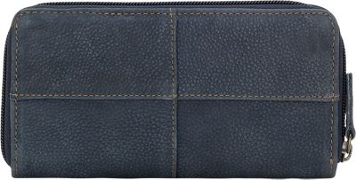 TrueLu The Riley Wallet Denim Blue - TrueLu Women's Wallets