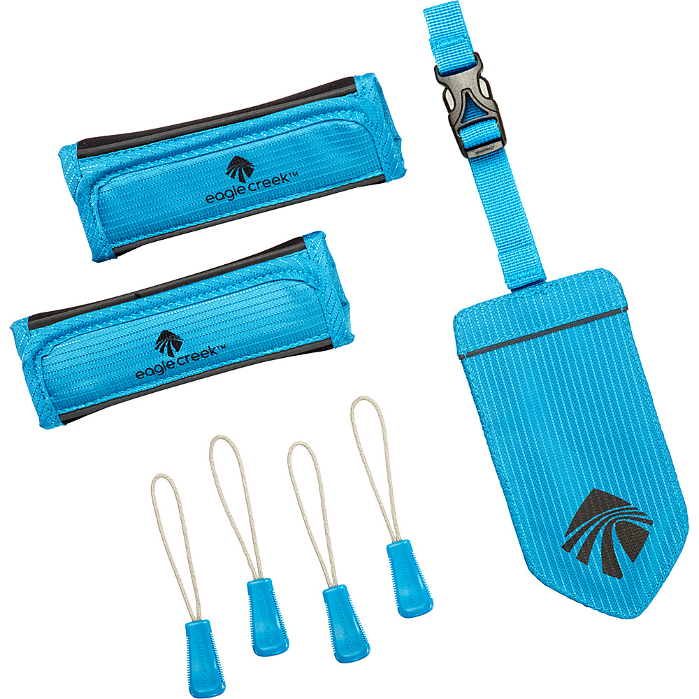 Eagle Creek Reflective Luggage Id Set Brilliant Blue - Eagle Creek Luggage Accessories - Travel Accessories, Luggage Accessories