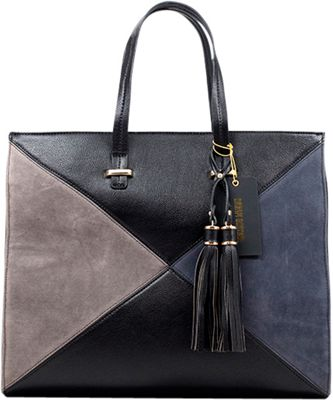 Like Dreams Brenda Tote Black - Like Dreams Manmade Handbags