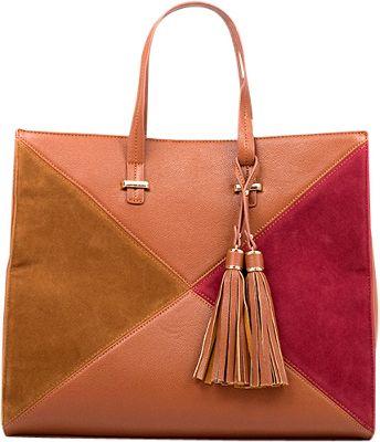 Like Dreams Brenda Tote Camel - Like Dreams Manmade Handbags