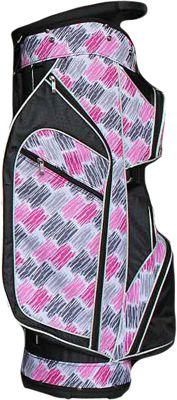 Taboo Fashions Monaco Lightweight Cart Bag Curtain Call - Taboo Fashions Golf Bags