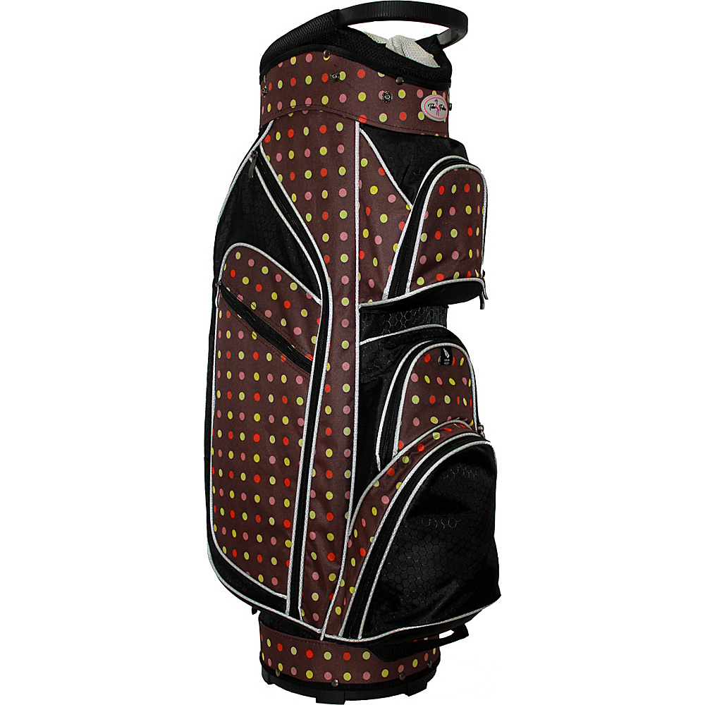 Taboo Fashions Monaco Lightweight Cart Bag Cocoa Eye Candy - Taboo Fashions Golf Bags