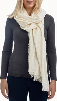 Lava Accessories Chambray Scarf Ivory - Lava Accessories Scarves