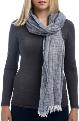 Lava Accessories Chambray Scarf Denim - Lava Accessories Scarves