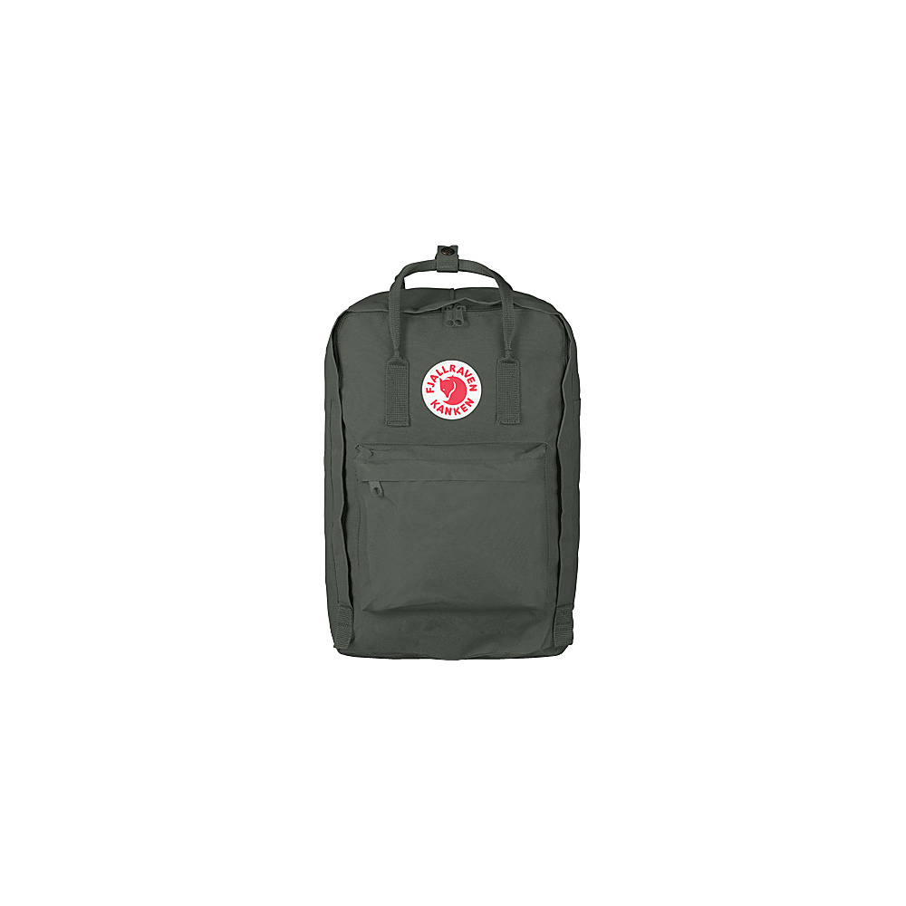 Fjallraven Kanken 17 Backpack Forest Green - Fjallraven Laptop Backpacks - Backpacks, Laptop Backpacks