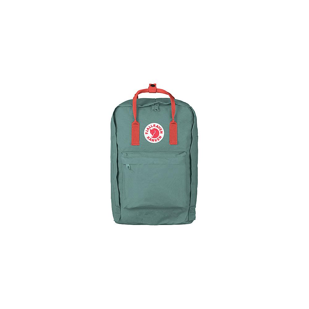 Fjallraven Kanken 17 Backpack Frost Green-Peach Pink - Fjallraven Laptop Backpacks - Backpacks, Laptop Backpacks
