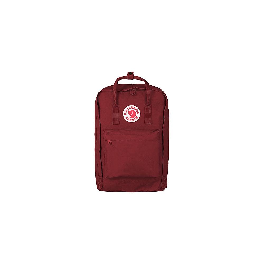 Fjallraven Kanken 17 Backpack Ox Red - Fjallraven Laptop Backpacks - Backpacks, Laptop Backpacks