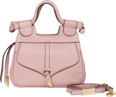 Foley + Corinna Brittany Mini Satchel Crossbody Lilac Chiffon - Foley + Corinna Leather Handbags