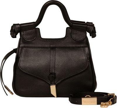 Foley + Corinna Brittany Mini Satchel Crossbody Black - Foley + Corinna Leather Handbags