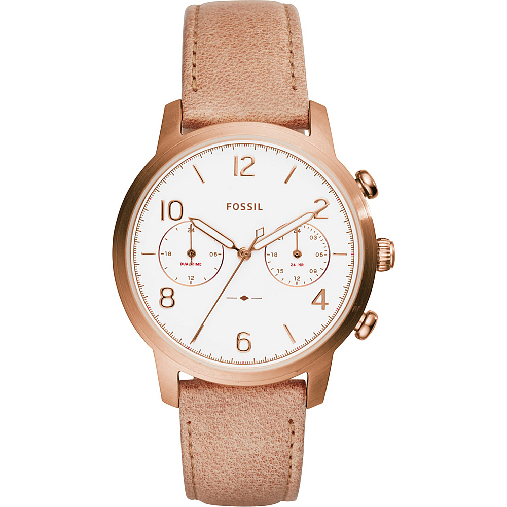 Fossil Caiden Multifunction Watch Beige - Fossil Watches - Fashion Accessories, Watches