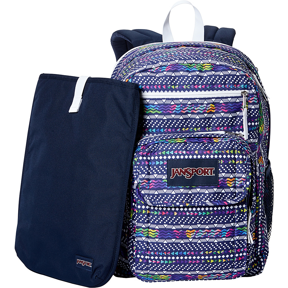 JanSport Digital Student Laptop Backpack- Sale Colors Tribal Wave Multi - JanSport Laptop Backpacks