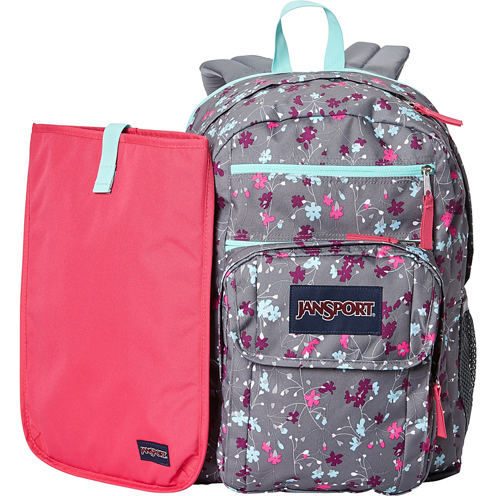 JanSport Digital Student Laptop Backpack- Sale Colors Spring Meadow - JanSport Laptop Backpacks
