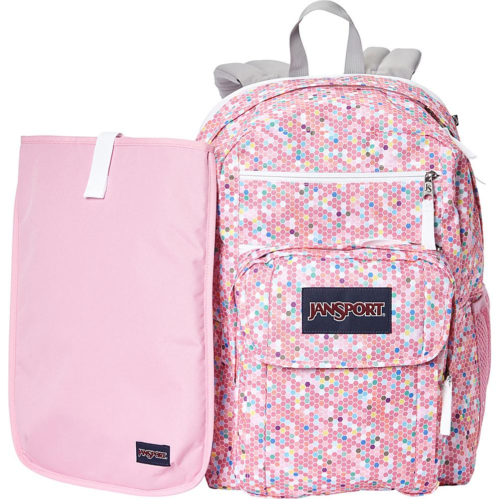 JanSport Digital Student Laptop Backpack- Sale Colors Confetti - JanSport Laptop Backpacks